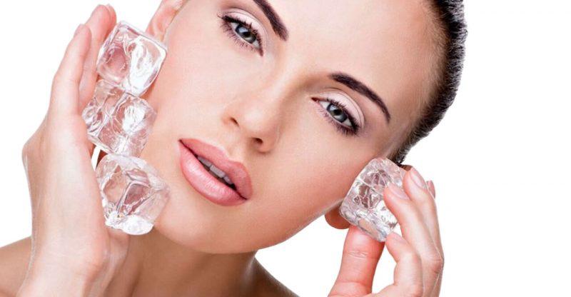 crioterapia para eliminar el acne