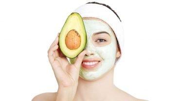 mascarilla de aguacate para el acne