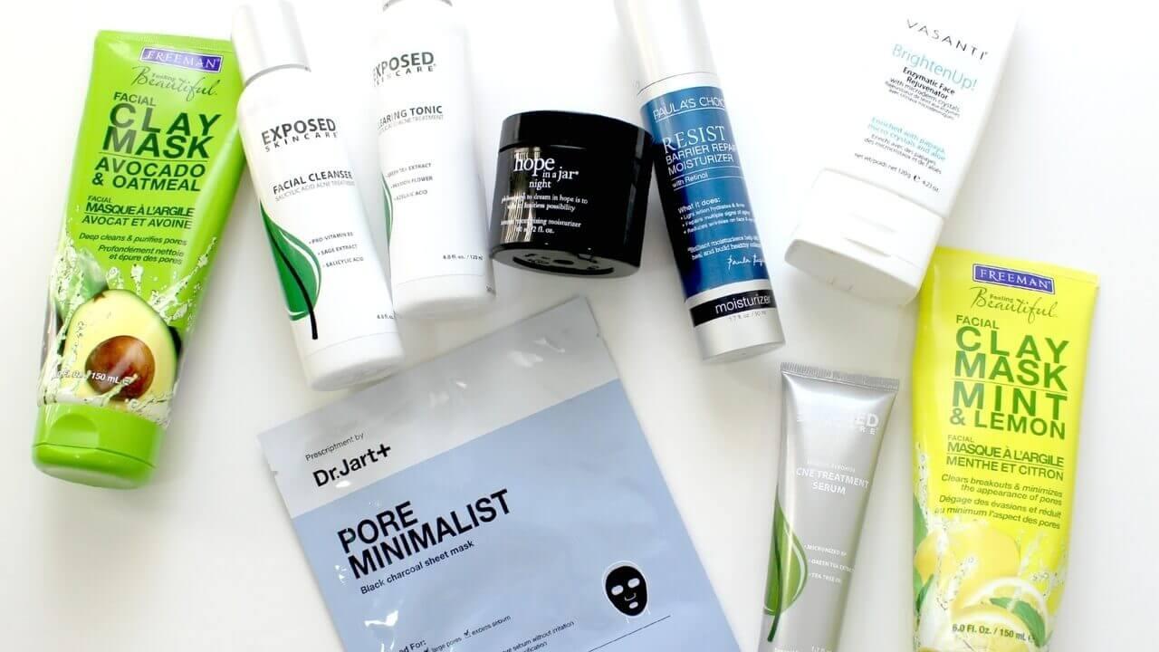 productos para las marcas de acne