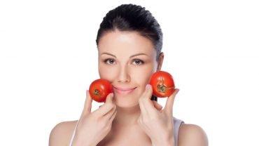 tomate para el acne